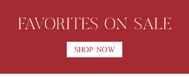 Find new favorites on sale here!
