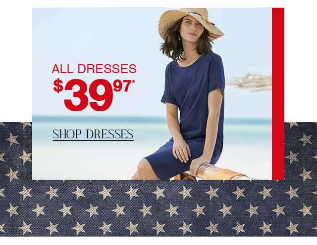 Shop sale dresses for only $39.97 now!