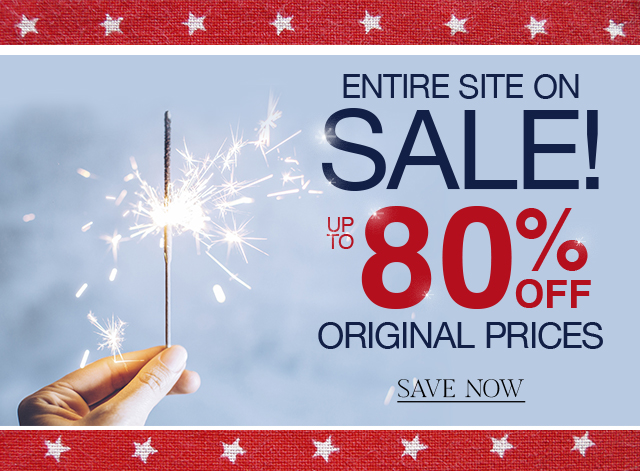 Our entire site is on sale, save up to 80% on original prices!
